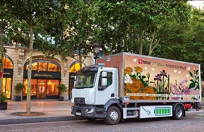 camion livraison paris