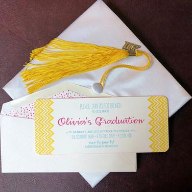 custom special occasion invitation.