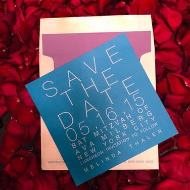 custom save the date.