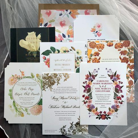 custom wedding invitations.