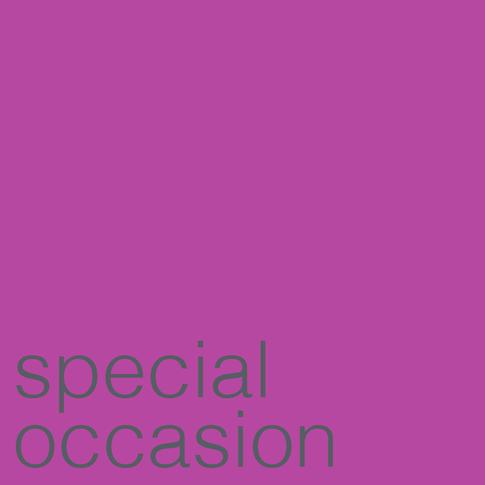 Special Occasion Invitation Design