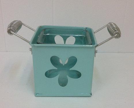 Flower Design Metal Holder
