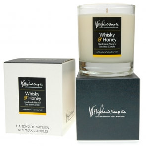 Whisky and Honey Scented Candle
