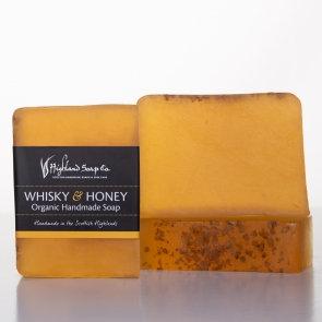 Whisky and Honey Handmade Soap