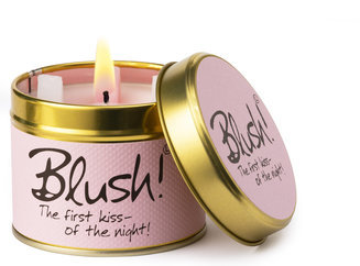 Blush Scented Tin Candle