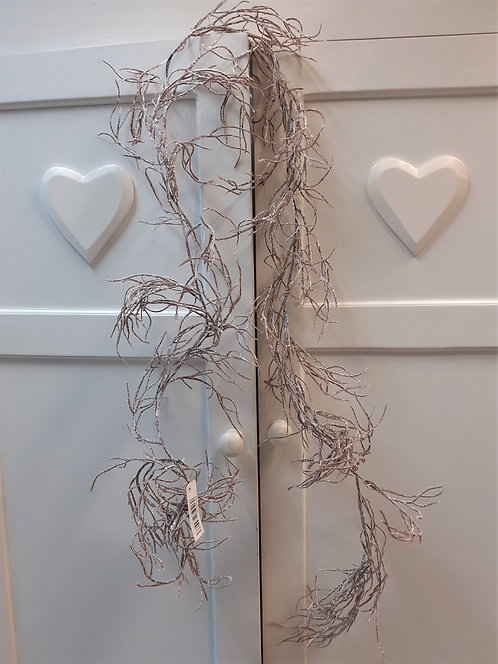 Frosted Twig Garland