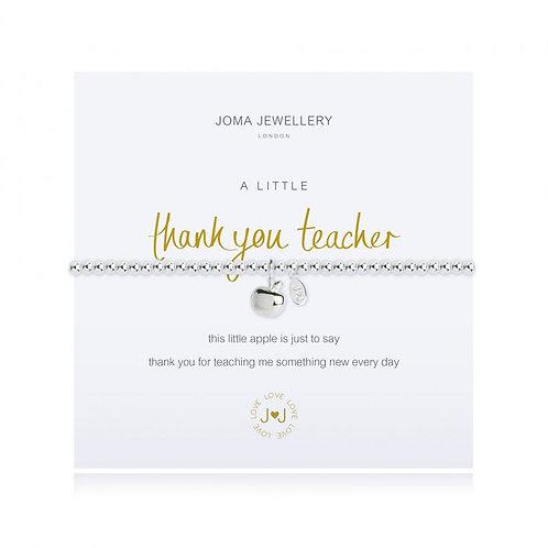 Thank You Teacher Bracelet