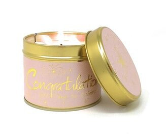 Congratulations Scented Tin Candle
