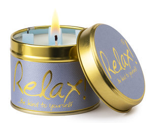 Relax Scented Tin Candle