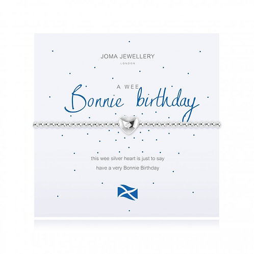 Bonnie Birthday Bracelet