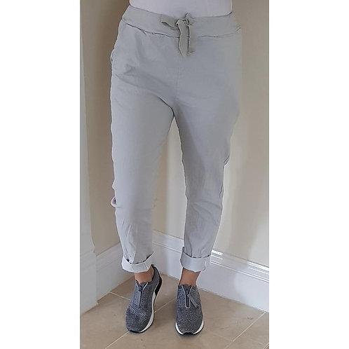 Stretch Joggers - Denim Grey