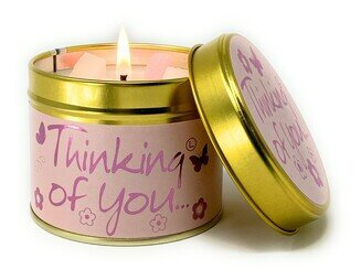 Thinking of You Scented Tin Candle