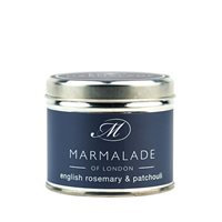English Rosemary & Patchouli Tin Candle
