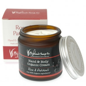 Rose and Patchouli Hand & Body Cream