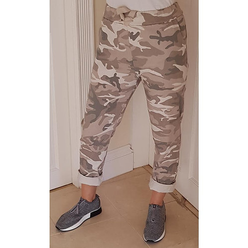 Stretch Joggers - Camoflage