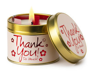 Thank You Scented Tin Candle