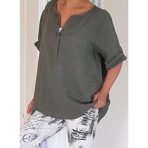 Plain Linen Top
