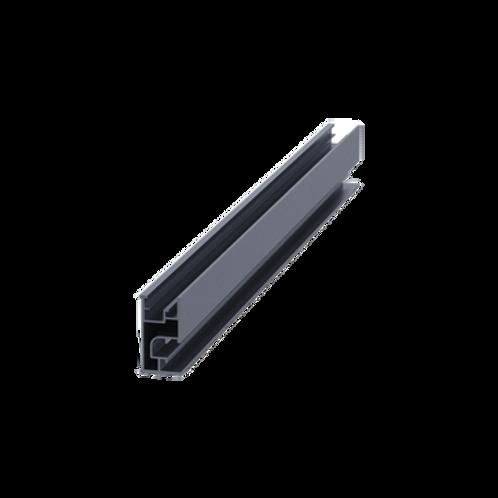 Riel 7 2100 mm aluminio anodizado EPCOM POWERLINE