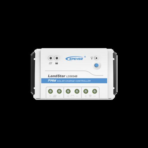 Controlador Solar de Carga y Descarga 12/24V 30A EPEVER