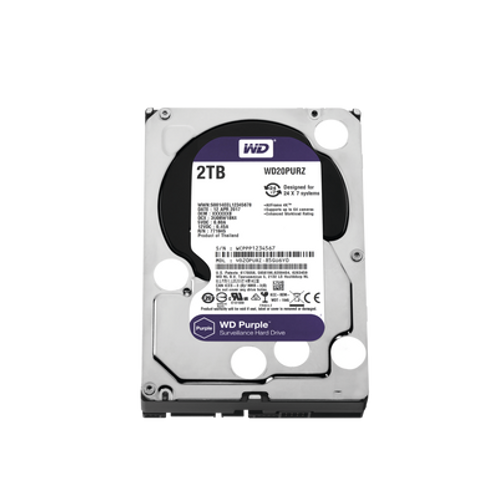 Disco Duro PURPLE de 2TB WESTERN DIGITAL (WD)