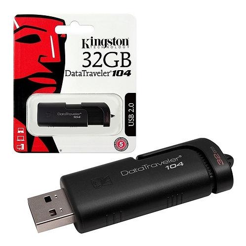 MEMORIA USB KINGSTON 32GB DT104/32GB