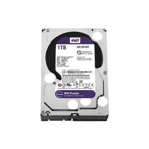 Disco Duro PURPLE de 1TB WESTERN DIGITAL (WD)