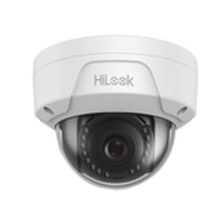 HiLook Series / Domo IP 4 Megapixel / 30 mts IR / Exterior IP67 / PoE / WDR 120