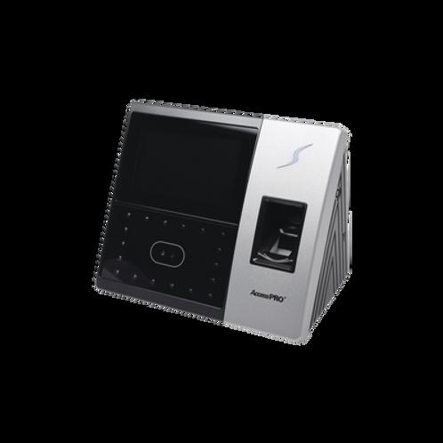 Terminal de reconocimiento Facial con lector de Huellas y Tarjetas ZKTECO