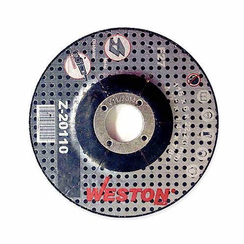 DISCO D/CUBO P/METAL 4-1/2'' WESTON