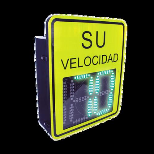 Radar Medidor de Velocidad de 3 Digitos ACCESSPRO