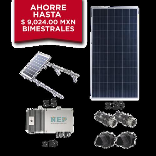 Kit Solar para interconexión de 5.5 kW de Potencia EPCOM