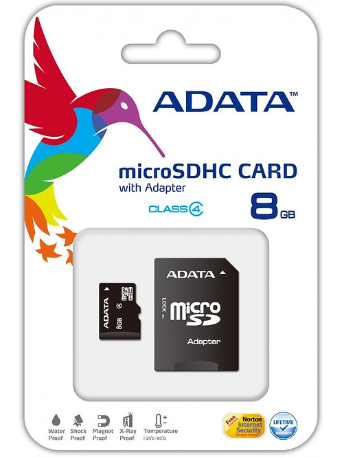 MEMORIA MICRO SD 8GB ADATA RAM-1831
