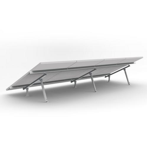 Montaje de aluminio para techo o piso de concreto EPCOM POWERLINE