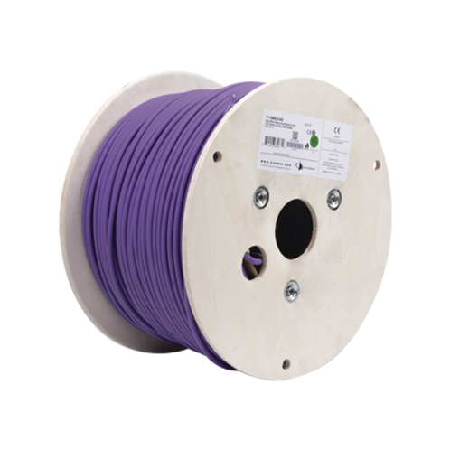 Bobina de Cable Blindado SIEMON  Cat6A Color Violeta, 305m