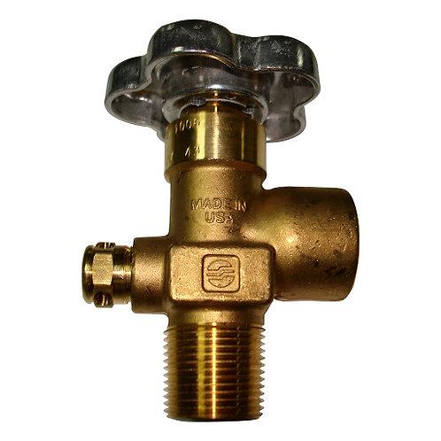 Valvula Gas Inerte CGA-580 3/4″