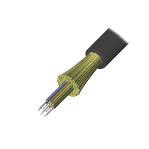 Cable de Fibra Óptica de 12 hilos, Interior/Exterior SIEMON
