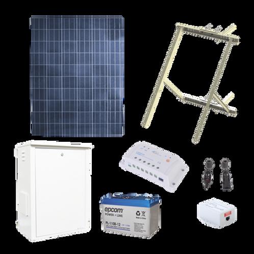 Kit Solar de 8.5 W con PoE EPCOM POWERLINE