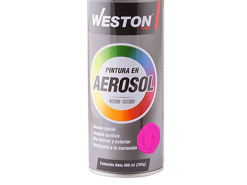 AEROSOL WESTON ROSA FLUORESCENTE STM-900150