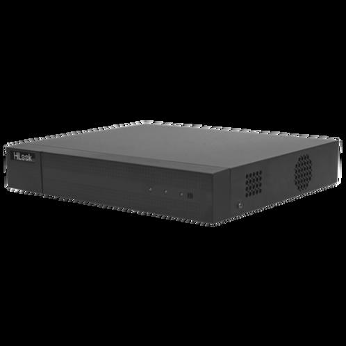 DVR 1080P Lite Pentahibrido / 16 Canales TURBOHD + 2 Canales IP / 1 Bahía