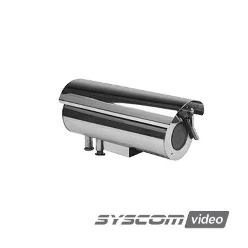 Gabinete para cámara cumple con norma anti explosión y norma de intrusiónSYSCOM