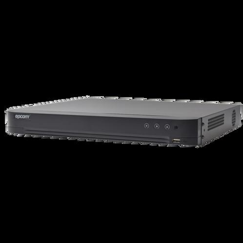 DVR 4 Megapixel Lite / 8 Canales TURBOHD + 4 Canales IP