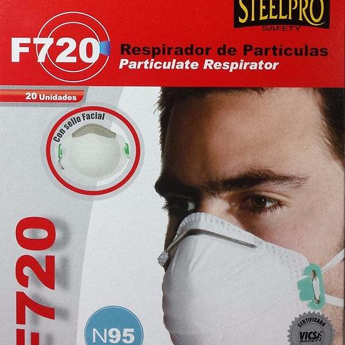 Respirador F720 (steelpro) Sin válvula