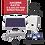Thumbnail: Kit solar para interconexión de 5 KW de potencia, paneles monocristalinos 340, 2
