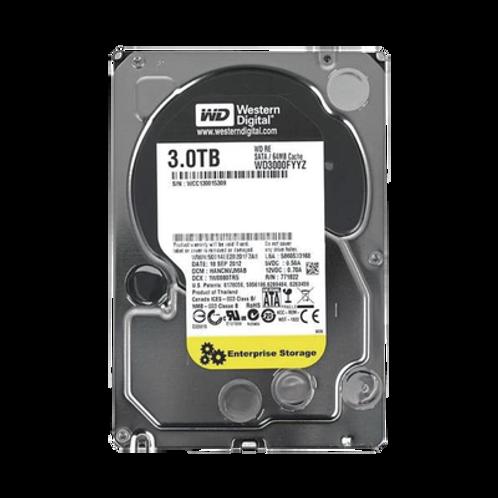 Western Digital Re 3TB / 7200RPM WESTERN DIGITAL (WD)