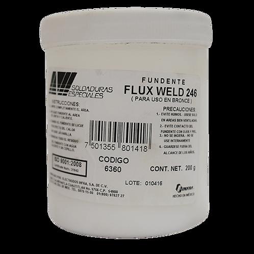 flux weld 246
