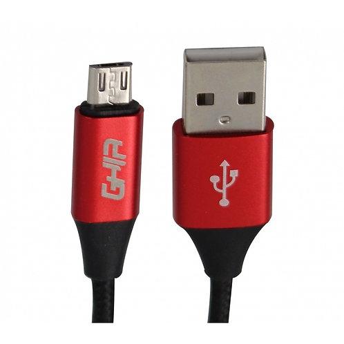 CABLE USB MICRO GHIA GAC-078