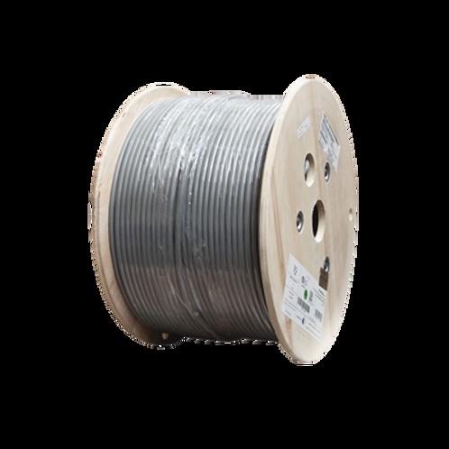Bobina de Cable Blindado 305 m, SIEMON, Cat6A, Color Gris