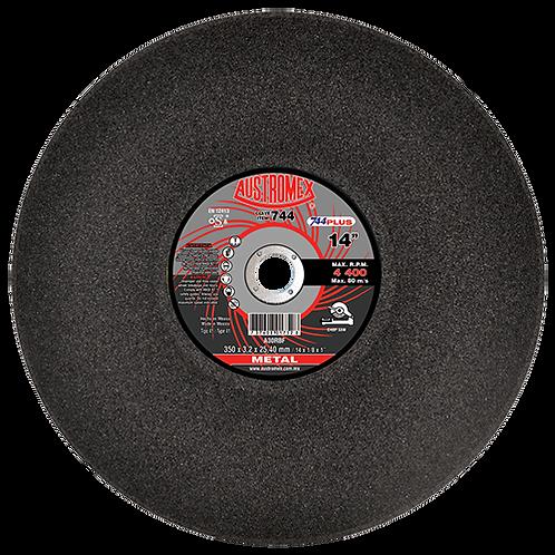 """Disco de 14"""" para corte de metal (sólidos) marca Austromex"""