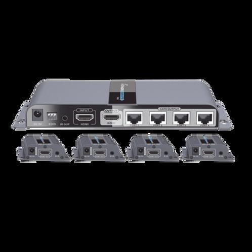 Kit completo Distribuidor HDMI 1 X 4 EPCOM TITANIUM