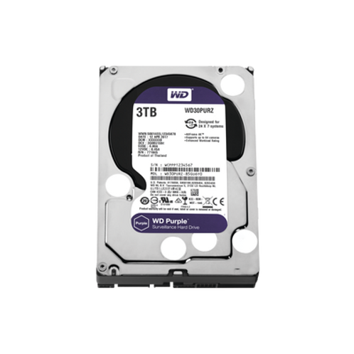 Disco Duro PURPLE de 3TB WESTERN DIGITAL (WD)